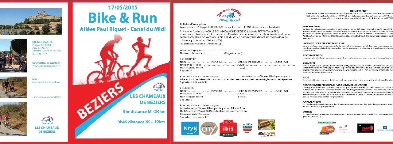 Bike and Run des Chameaux