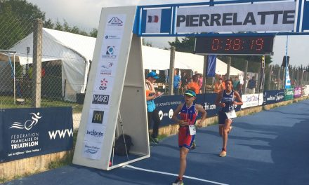 Championnat de France de triathlon: Une belle expérience pour Maylis