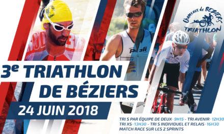 Triathlon Béziers 2018