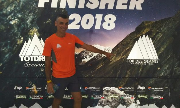 TOR DES GEANTS 2018 – Finisher