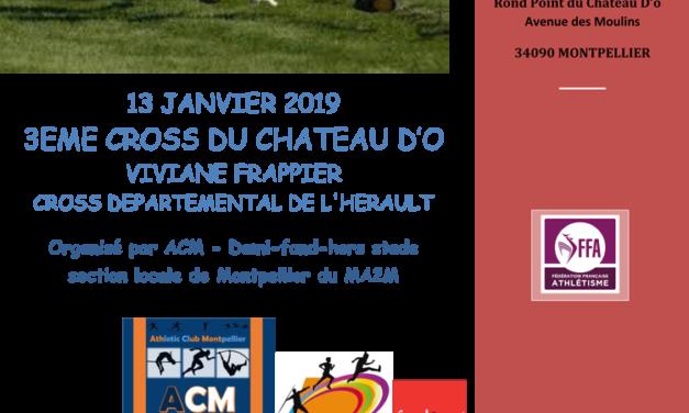 3 ème Cross du château d'Ô