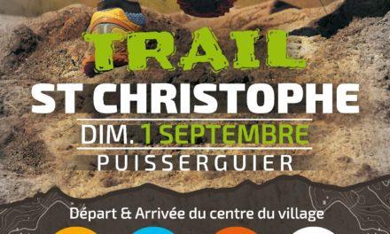 Trail de Saint Chistophe  2ème édition.